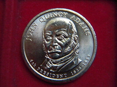 A One Dollar Coin From The Usa To Commemorate  John Quincy Adams 1825-1829