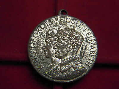 1937  Medallion To Commemorate The  Coronation Of George V1