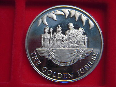 2002 Crown From The Falkland Islands  To Commemorate The  Queens Golden Jubilee