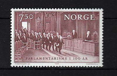 Noruega ( Norway ) : 1984 Centenary Parlament MNH