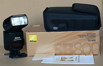 Nikon SB800 Speedlight Shoe Mount Flash