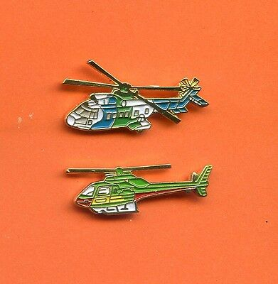 2 Pins Hubschrauber  Helicopter Helicoptere    H490