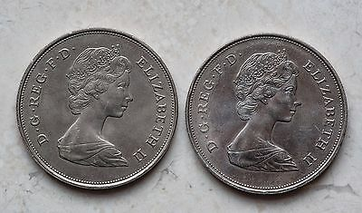 2 Commemorative Crowns Charles/Diana & Queen Mother