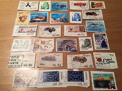 Lot of Spain Stamps - recent & used