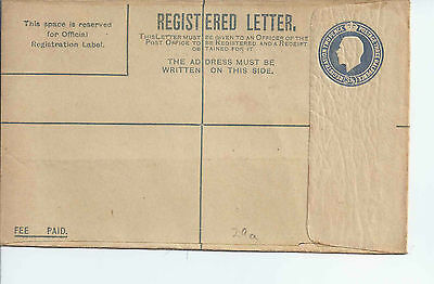GB Stationery: KGV registered envelope mint RP29a