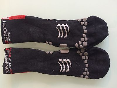 Compressport Winter Cycling Socks Men's Size 42-44