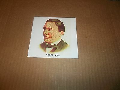 Pearl Jam Vitalogy Promo Only Sticker 5'' by 5'' Square Sticker