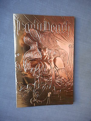Lady Death The Odyssey N°1 Gold Foil Cover Vo Neuf / Near Mint / Mint