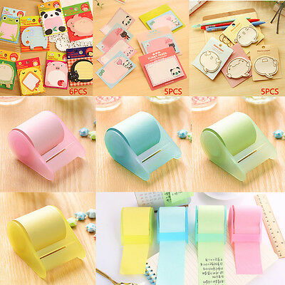 Cute Sticker Post It Note Bookmark Mark Index Tab Memo Notepad Sticky Notes