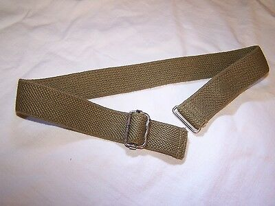British WW 2 elastic chinstrap for Mk II doughboy helmet. 1944 manufacture.