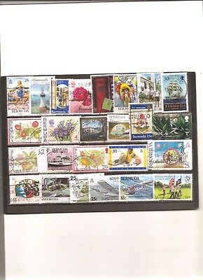 timbres bermude 32 timbres