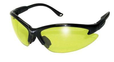 Global Vision Cougar Safety Sunglasses Yellow Lenses ML with Pouch