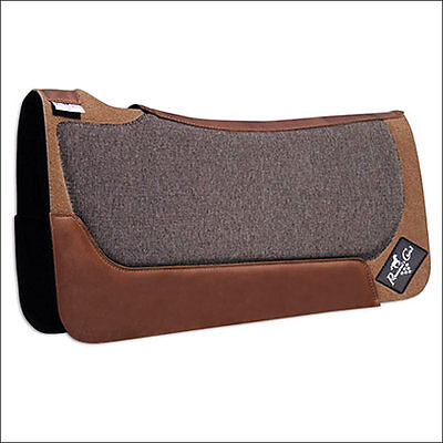 Tan Professional Choice Roper Elite Contoured Horse Western Air Ride Saddle Pad