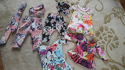 Girls Designer Baby Ted Baker Bundle Couture Age 3/6 Mths