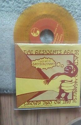 The Residents.Satisfaction.yellow/gold vinyl.punk