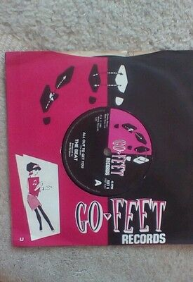 The Beat.All out to get you.go-feet..vinyl single.