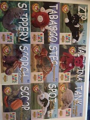 30x Beanie Baby Trading Cards Series 2 Ty Official Club
