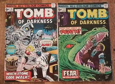 Tomb of Darkness vol I # 16 and 17