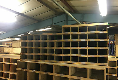 Used Wooden Industrial Heavy Duty Racking, Storage, Shelving Unit