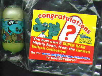 Rare Special Limited Edition Mighty Beanz Adventure Moose Bean Only 1000 Made