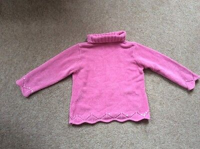 Mothercare Girls Jumper Age 3-4