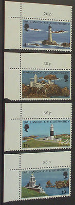 1976 Guernsey Complete Year Commemoratives MNH (4 sets)