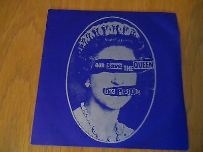"""Sex Pistols - God Save The Queen  - Virgin 181 - Picture Cover 7""""single"""