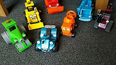 Bob the Builder 7 different Vehicles