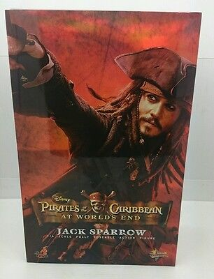 Pirates Of The Caribbean At Worlds End Jack Sparrow 1/6 Hot Toys Mms42 Figure