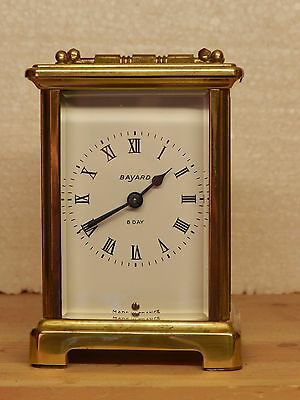 Duverdrey & Bloquel Carriage Clock In Good Working Order Recently Serviced