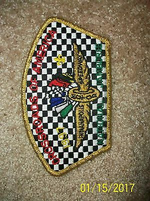 Boy Scout 1997 National Jamboree Patch-Indianapolis Speedway