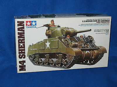 1/35 - Kit Tamiya 35190 - Sherman M4 early production - Kit - Maquette