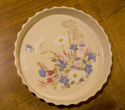 Poole Pottery Flan/quiche Dish