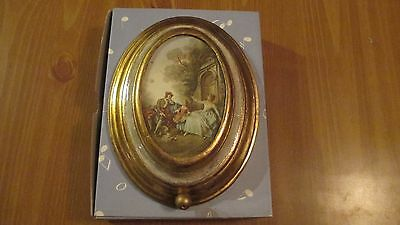 Vintage  Reuge Wall Mount Music Box: The Anniversary Waltz  NOS