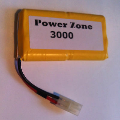 9.6v 3000mAh Ni-MH RC (4x4)Vertically Rechargable AA Power Pack Battery free P&P