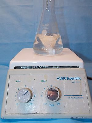 Vwr Scientific 370 Hot Plate / Stirrer Used Great Working Condition