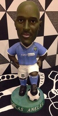 Manchester City Bobble Dobbles Limited Edition 0463  Of 3000 Nicolas Anelka