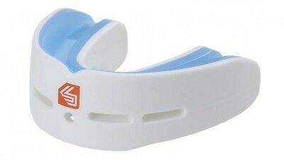 Shock Doctor Nano Double Fight Mouthguard-Mouth Guard Piece White - Adult