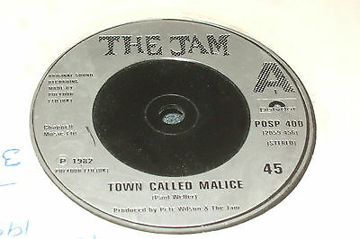 """The Jam – Town Called Malice / Precious 7""""    1982   MOD CLASSIC!!"""