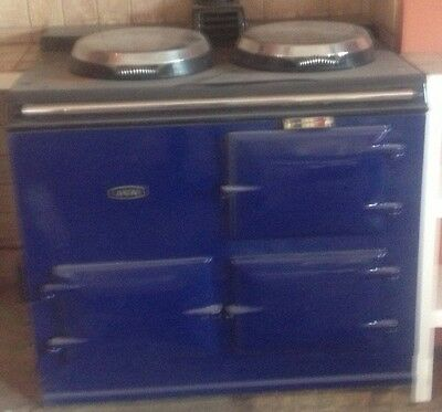 Aga Two Oven using Oil