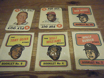 6  Early   Baseball   Cards  And  Booklets,   Printed  By  T.c.g.   All In Vgc