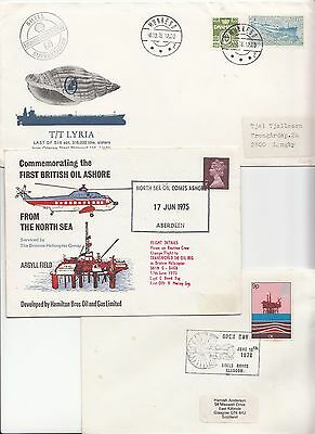 1970s   15 Covers North Sea Oil Industry Related .
