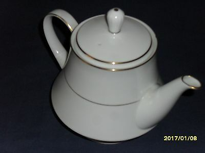 Noritake Denmark Regency Gold Teapot 2pts Perfect condition.