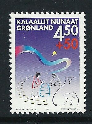 """Greenland 2002 """"Children are Peope Too"""" SG406 mint  stamp"""