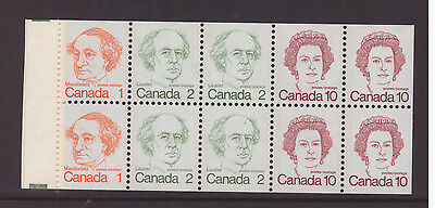Canada 1976  Booklet pane  mint MNH  stamps SG693c