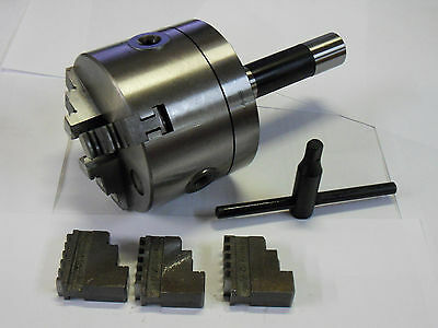 "3"" - 3 Jaw R8 Collet Chuck **new**"