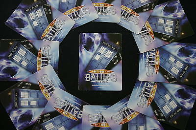 Dr Who Battles in Time cards - RARE CARDS