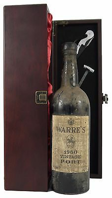 1960 Warre Vintage Port 1960 in a silk lined gift box with four wine accessories