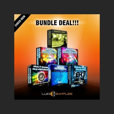 Multi Synth Sounds Bundle (6in1 - 40% OFF!) -Virus TI & Nord Lead 3 synthesizers