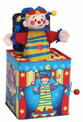 Schylling Jack in the Box Tin Toy JESTER - NEW - FREE SHIPPING!